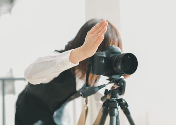 写真を撮影する様子
